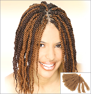 Afro Kinky Twist Braid Hair